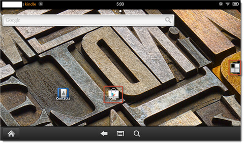 install google play on kindle fire-new home page