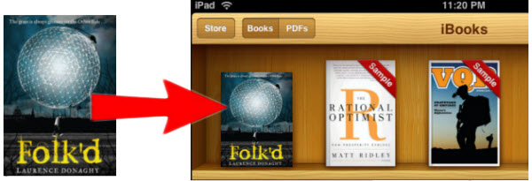 how to add cover to epub eBook